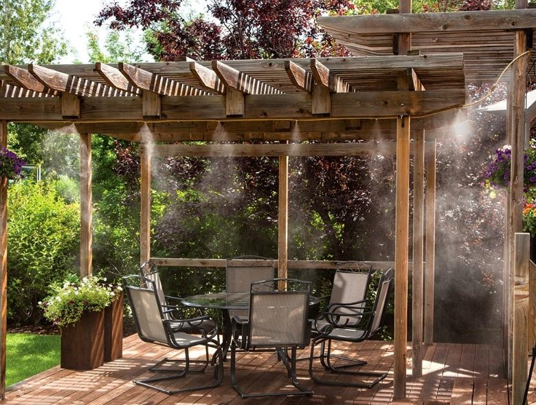 Los mejores nebulizadores de jardín y terraza